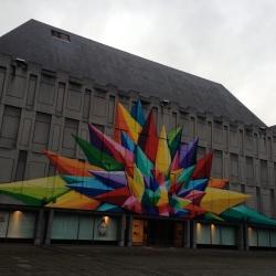 Entrance to Liège Museum of Art