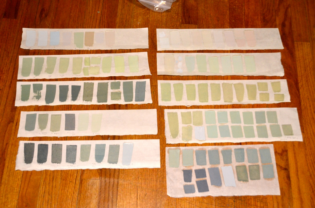 Color Swatches For Corcomroe