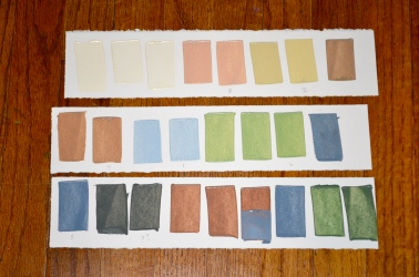 Color Swatches For Yosemite Valley
