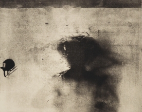 """Transference v.II - Photopolymer Intaglio and Chine-Collé, 20 x 16"""", 2016 - © grace sippy 2018"""