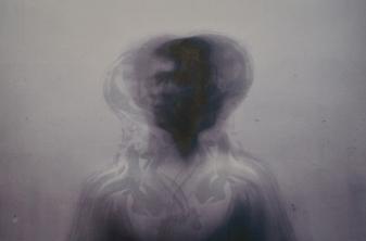 "Dreamscan II - Digital inkjet, screenprint, and chine-collé, 30x24"", 2018"