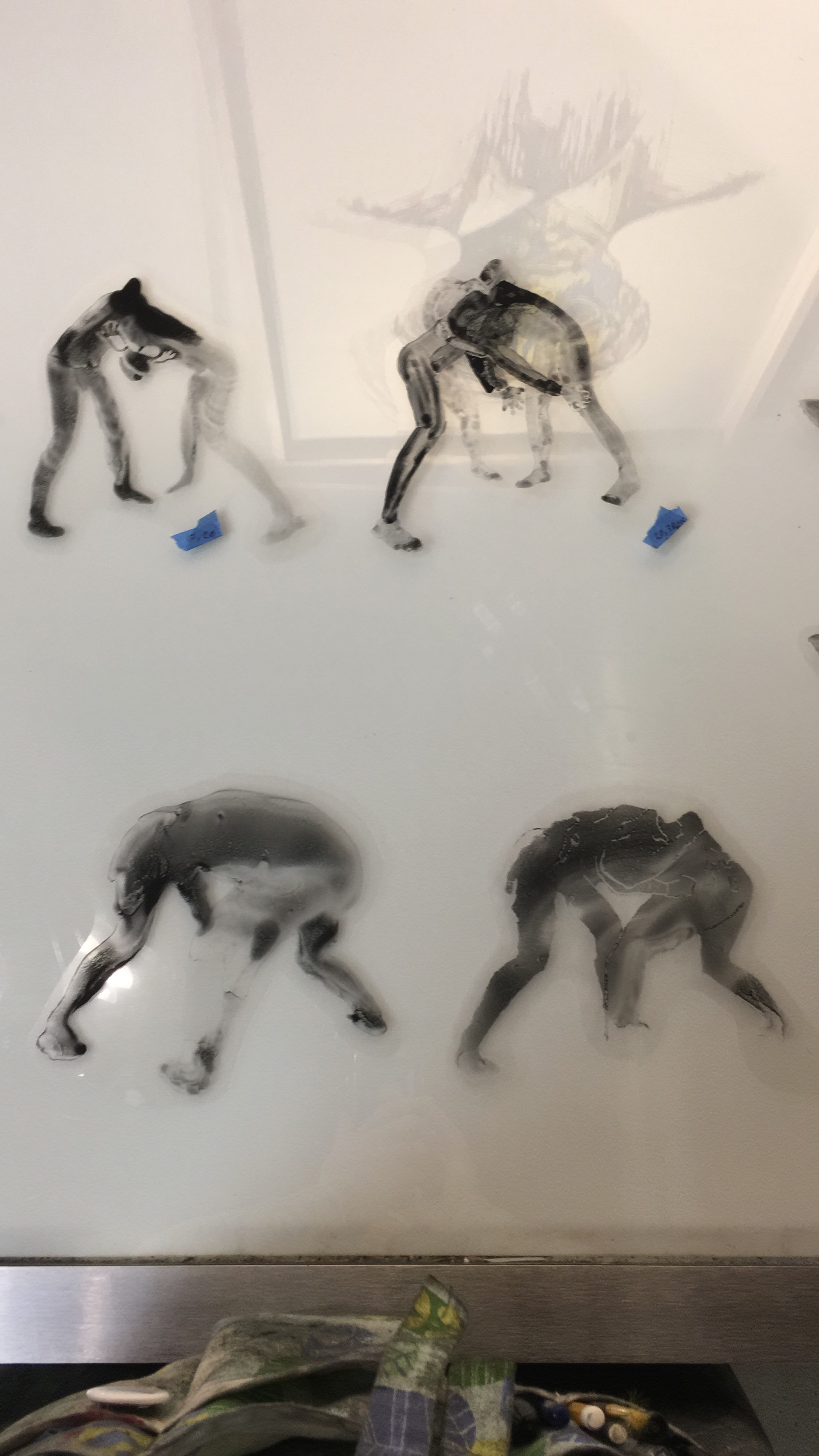 Toner drawing figures